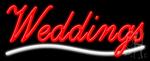 Weddings Neon Sign