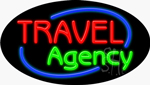 Travel Agency Neon Sign