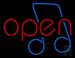 Open Music Tone Neon Sign