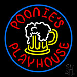 Poonies Playhouse Neon Sign