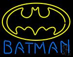Batman Logo Neon Sign