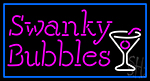 Swanky Bubbles Neon Sign