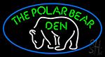 The Polar Bear Den Neon Sign