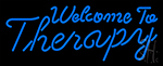 Welcome To Therapy Neon Sign