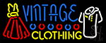 Vintage Clothing Neon Sign