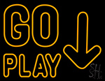 Go Play Neon Sign
