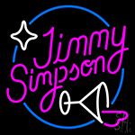 Jimmy Simpson Neon Sign