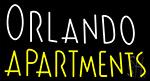 Orlando Apartments Neon Sign