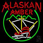 Alaskan Amber Logo Neon Sign