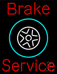 Brake Service Neon Sign