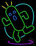 Cactuar Neon Sign