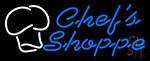 Chefs Shoppe Neon Sign