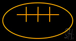 Football Neon Sign