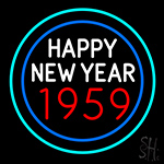 Happy New Year 1959 Bioshock Neon Sign