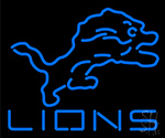 Lions Neon Sign
