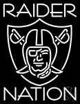 Oakland Raiders Nfl Raider Nation Neon Sign