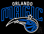 Orlando Magic Full Logo Neon Sign