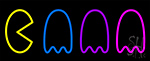 Pac Man Ghosts Neon Sign