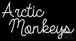 Rock Artic Monkeys Neon Sign