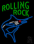 Rolling Rock Fish Neon Sign