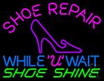 Shoe Repair Neon Sign