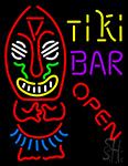 Tiki Bar Open Neon Sign