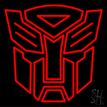 Transformers Autobots Neon Sign