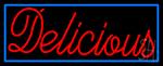 Delicious Neon Sign