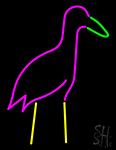 Egret Neon Sign