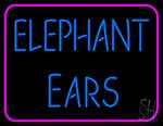 Elephant Ears Neon Sign