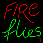 Fire Flies Neon Sign