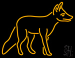 Fox Neon Sign