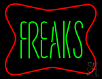 Freaks Neon Sign