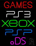 Games Xbox Neon Sign