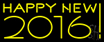 Happy New Year 2016 Neon Sign