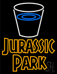 Jurassic Park Neon Sign