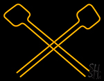Mallets Neon Sign