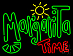 Margarita Time Neon Sign