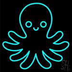 Octopus Neon Sign