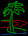 Plam Tree Neon Sign