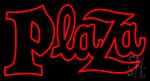 Plaza Neon Sign