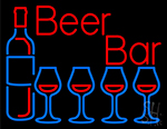 Red Beer Bar Neon Sign