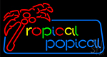 Tropical Popical Neon Sign