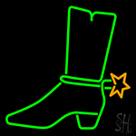 Shoes Neon Sign