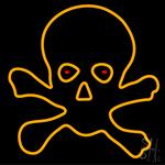 Skull Bulb Neon Sign