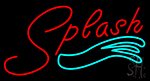 Splash Neon Sign