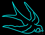 Swallows Neon Sign