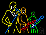 The Music Group Neon Sign