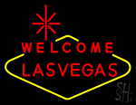Welcome Lasvegas Neon Sign