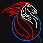 Detroit Pistons Logo Neon Sign